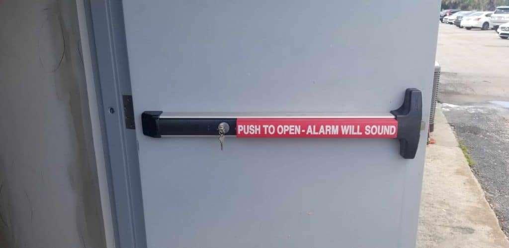 Panic Bar Repair Services- 33607