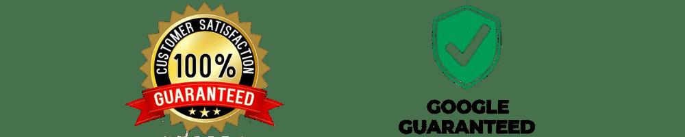 100-Customer-Satisfaction-And-Google-Guaranteed-Company