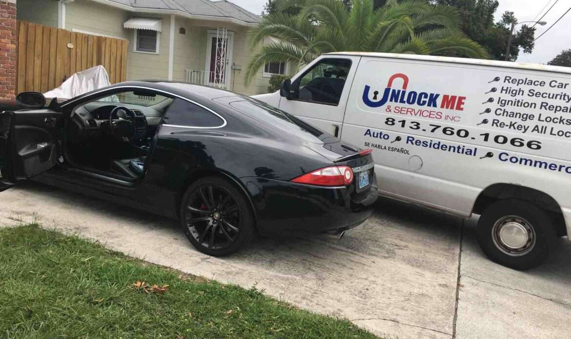 Locksmith services for vehicles