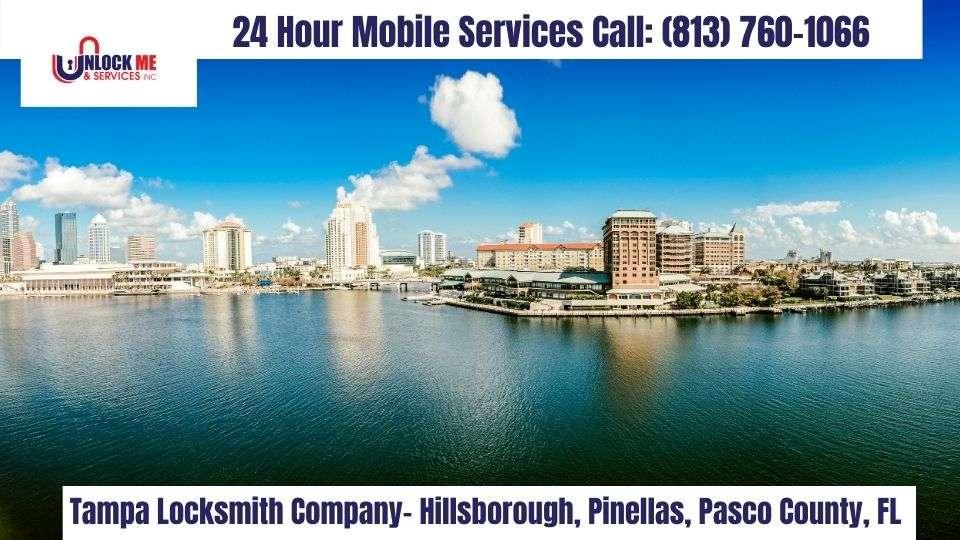 Locksmith Tampa, FL 33602- Unlock Me & Services Inc