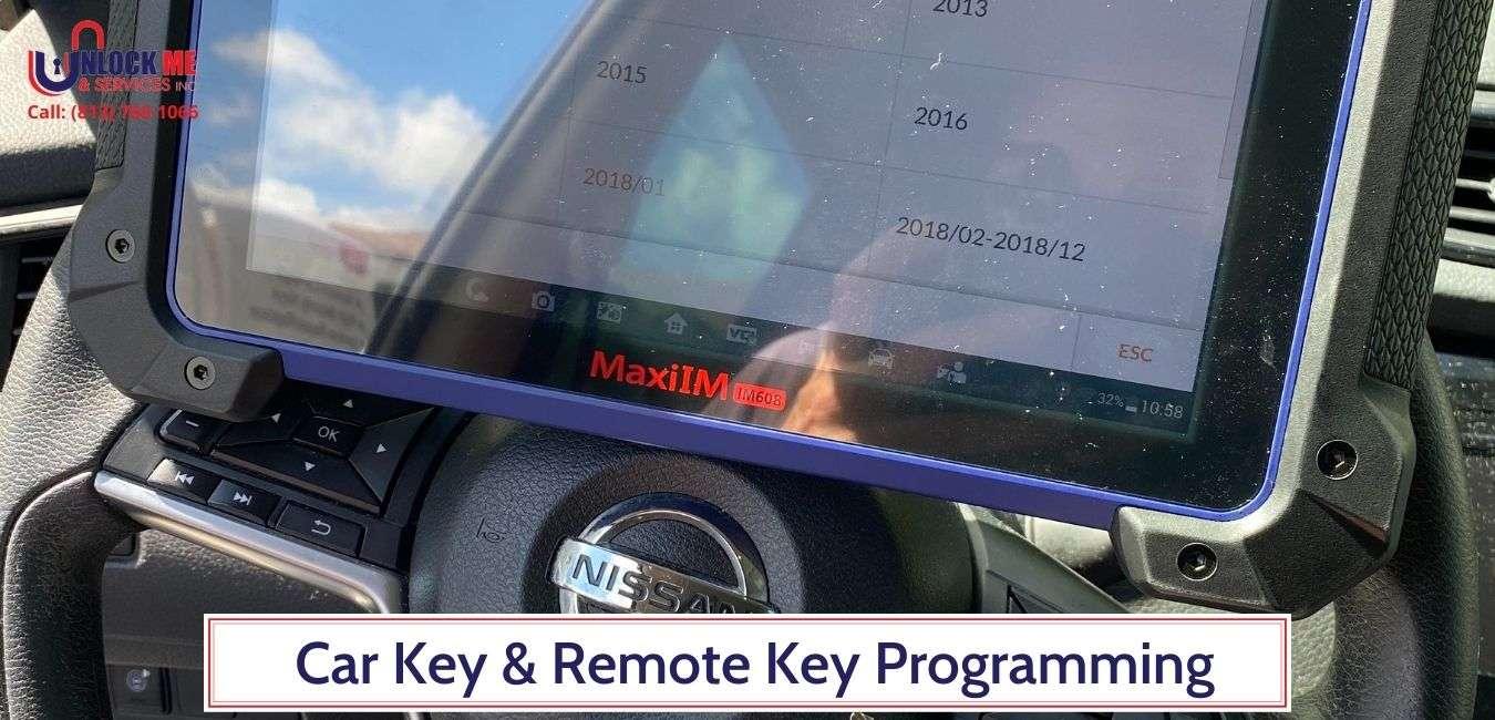 Car Key & Remote Key Programming- Unlock Me & Services Inc (813) 760-1066