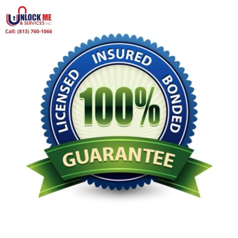 Licensed and Insured Locksmith- Unlock Me & Services Inc (813) 760-1066